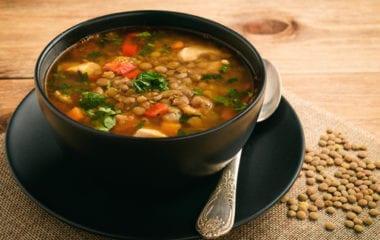 Lentil Soup Nutraphoria