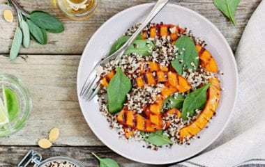Vegan Pumpkin And Quinoa Salad Nutraphoria
