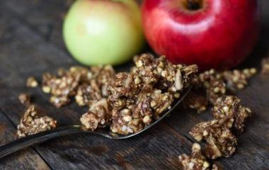 Grainless Vegan Granola Nutraphoria
