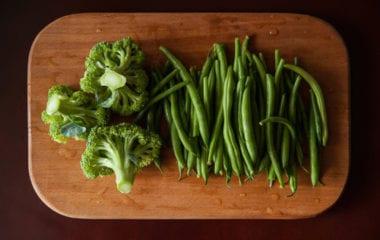 Green Bean and Broccoli Salad Nutraphoria