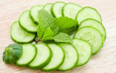 Cucumber Mint Salad Nutraphoria