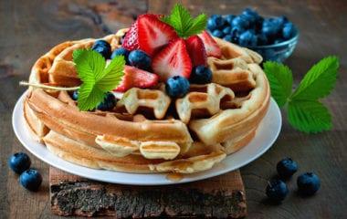 Protein Waffles Nutraphoria