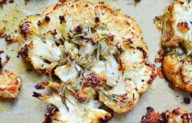 Quinoa Crusted Cauliflower Nutraphoria