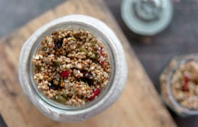 Buckwheat Granola Nutraphoria