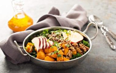 Butternut Squash & Apple Salad Nutraphoria