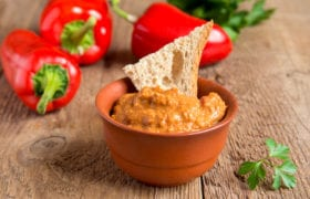 Roasted Red Pepper Sauce Nutraphoria