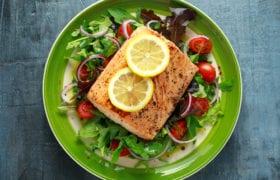 Oven Baked Salmon Nutraphoria