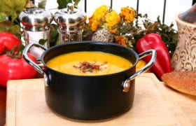 Roasted Butternut Squash Soup Nutraphoria