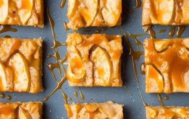 Healthy Vegan Salted Caramel Slice Nutraphoria