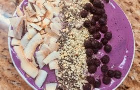Blueberry Superfood Smoothie Bowl Nutraphoria