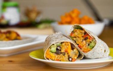 Vegan Burrito Nutraphoria