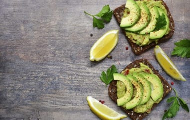 Egg White And Sprout Toast With Avocado Nutraphoria