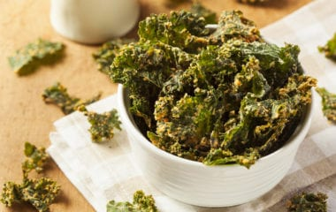 Cheesy Kale Chips Nutraphoria