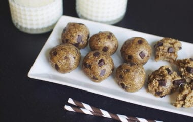 Vegan Cookie Dough Nutraphoria