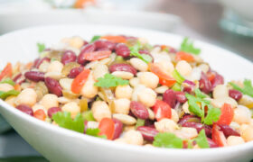 Three Bean Salad Nutraphoria