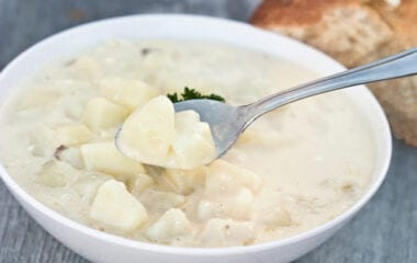 Creamy Potato Herb Soup