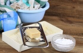 Natural Homemade Laundry Soap