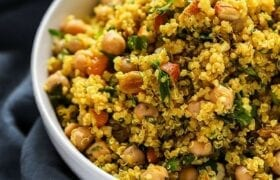 Chickpea and Quinoa Curry