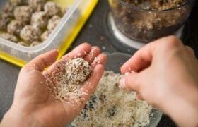 Almond Butter Energy Balls