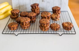 Easy Almond Banana Muffins