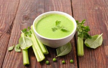 Healthy Creamy Celery Soup