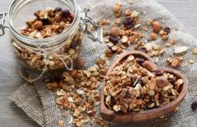 Delicious Vanilla-Almond Granola