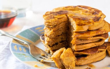 Delicious Sweet Potato Pancakes