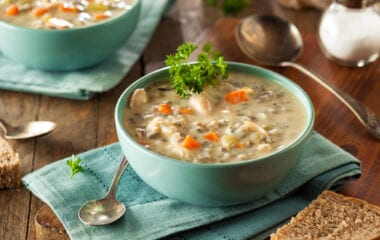 Soul-Warming Creamy Turkey and Wild Rice Soup