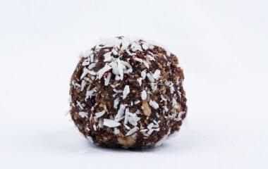 Chocolate Chickpea Protein Balls