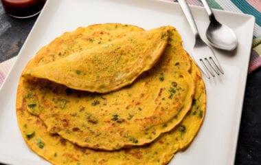 The Best Vegan Omelette