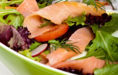 Anti-Inflammatory Salad With Salmon