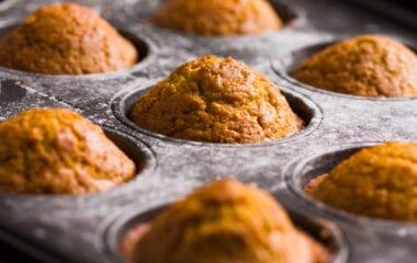 Nutrient-Dense Pumpkin Flax Muffins