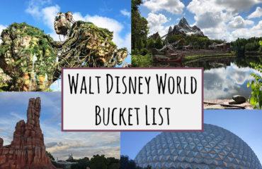 Walt Disney World Bucket List - kktravelsandeats