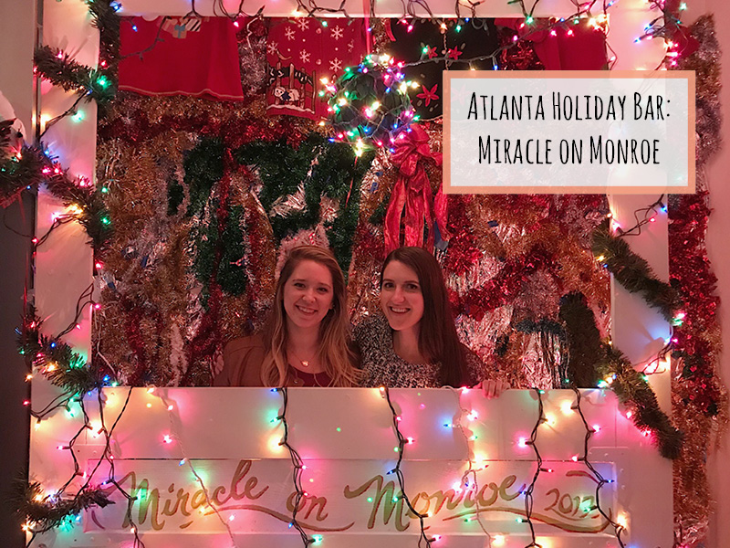 Atlanta Pop-Up Bar: Miracle on Monroe