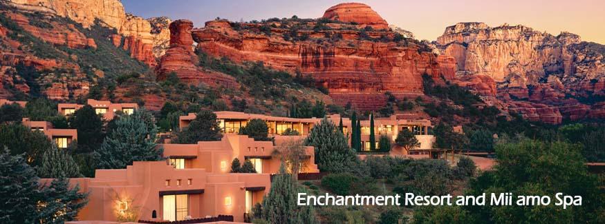 Enchantment Resort and Mii amo Spa in Sedona AZ