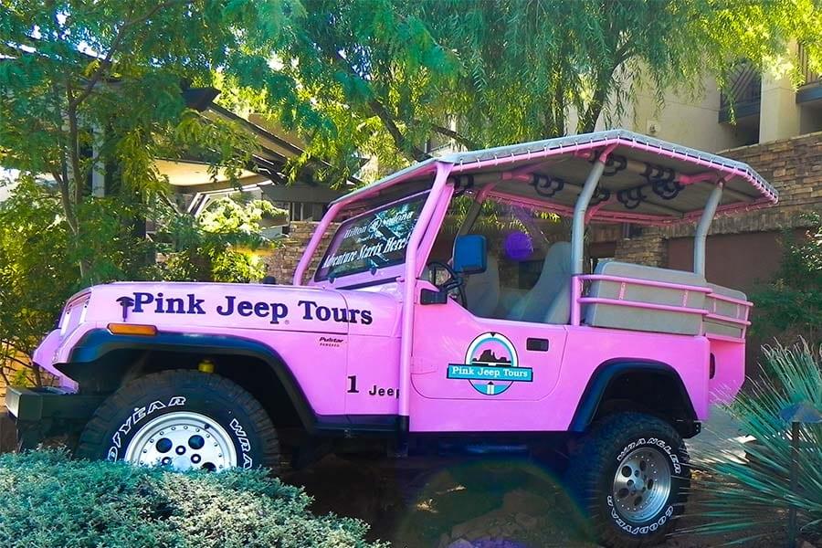 Broken Arrow Jeep Tour Sedona AZ Pink Jeep Tours