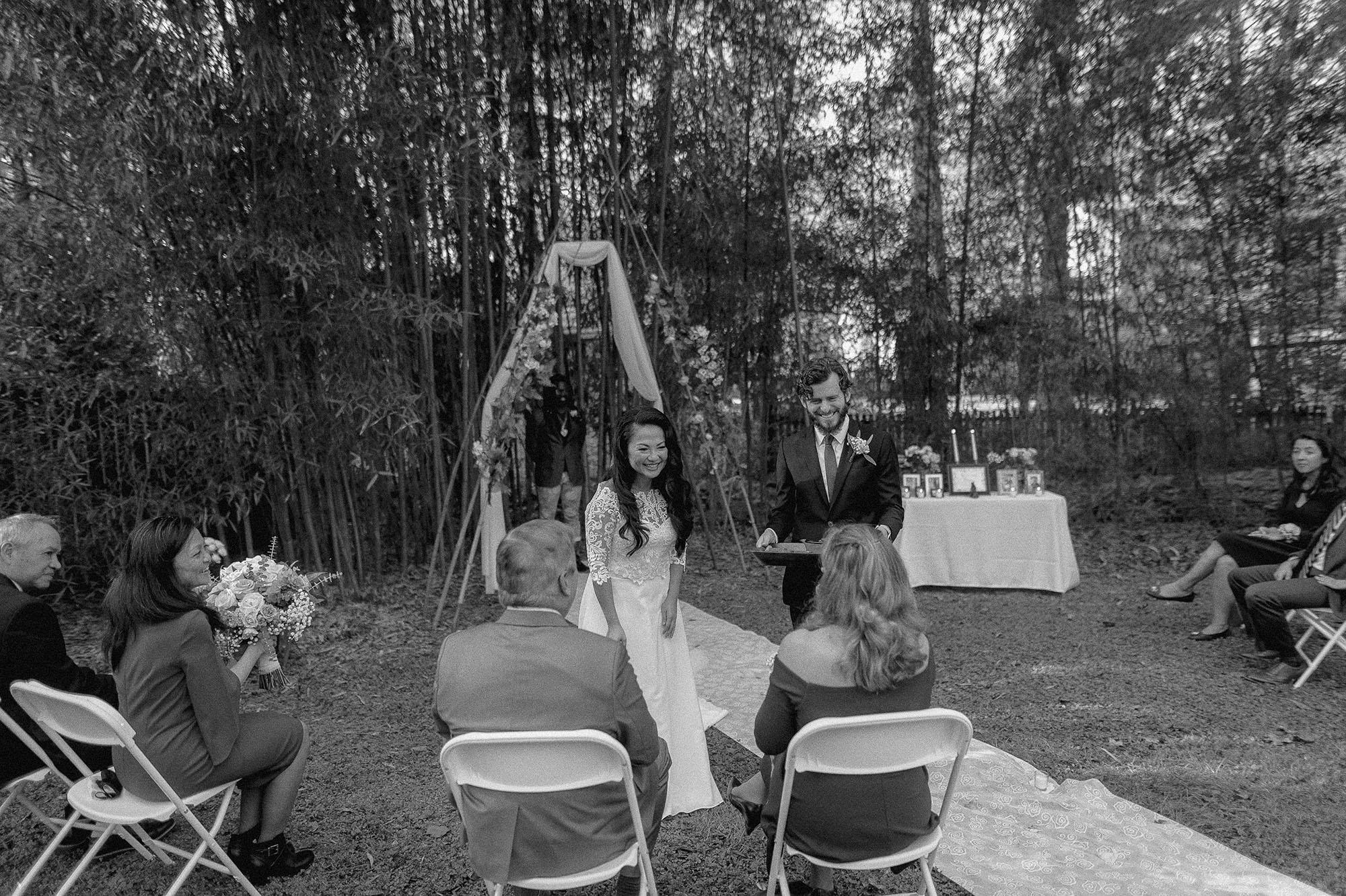Chinese Backyard Wedding