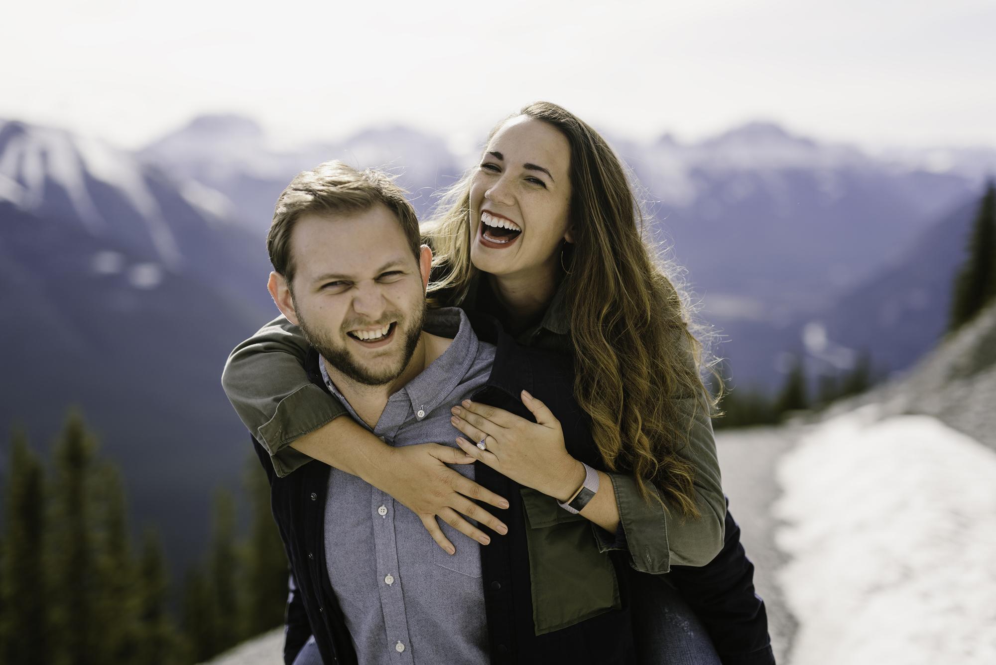 Banff Gondola Engagement Session