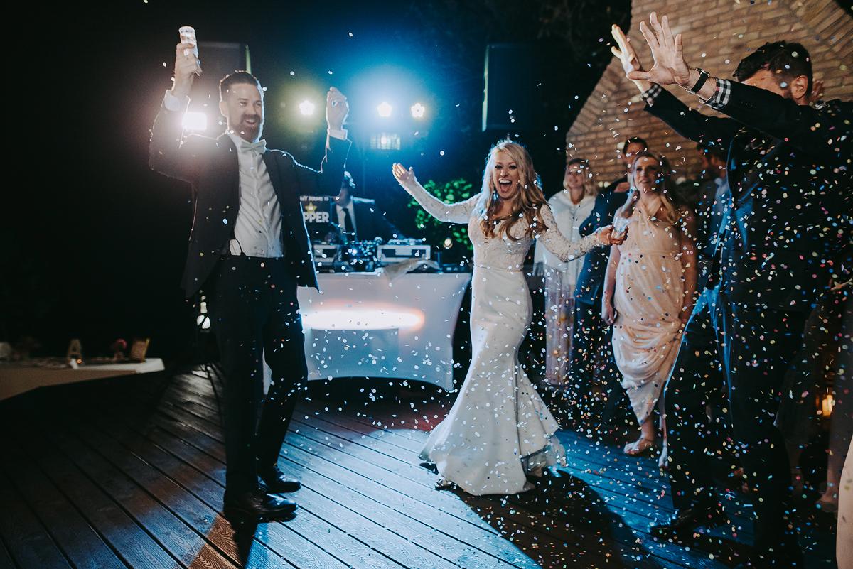 Bride and Groom Confetti