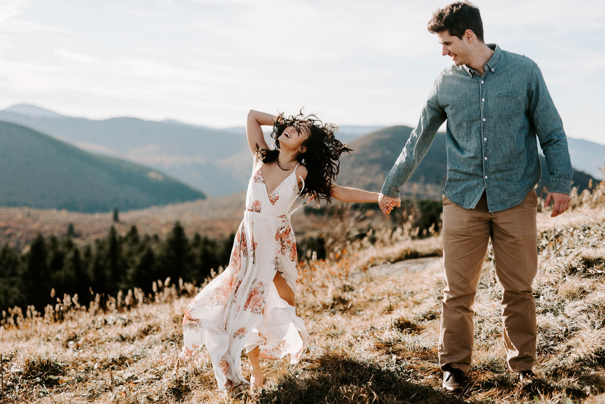 Asheville NC Engagement Photographer
