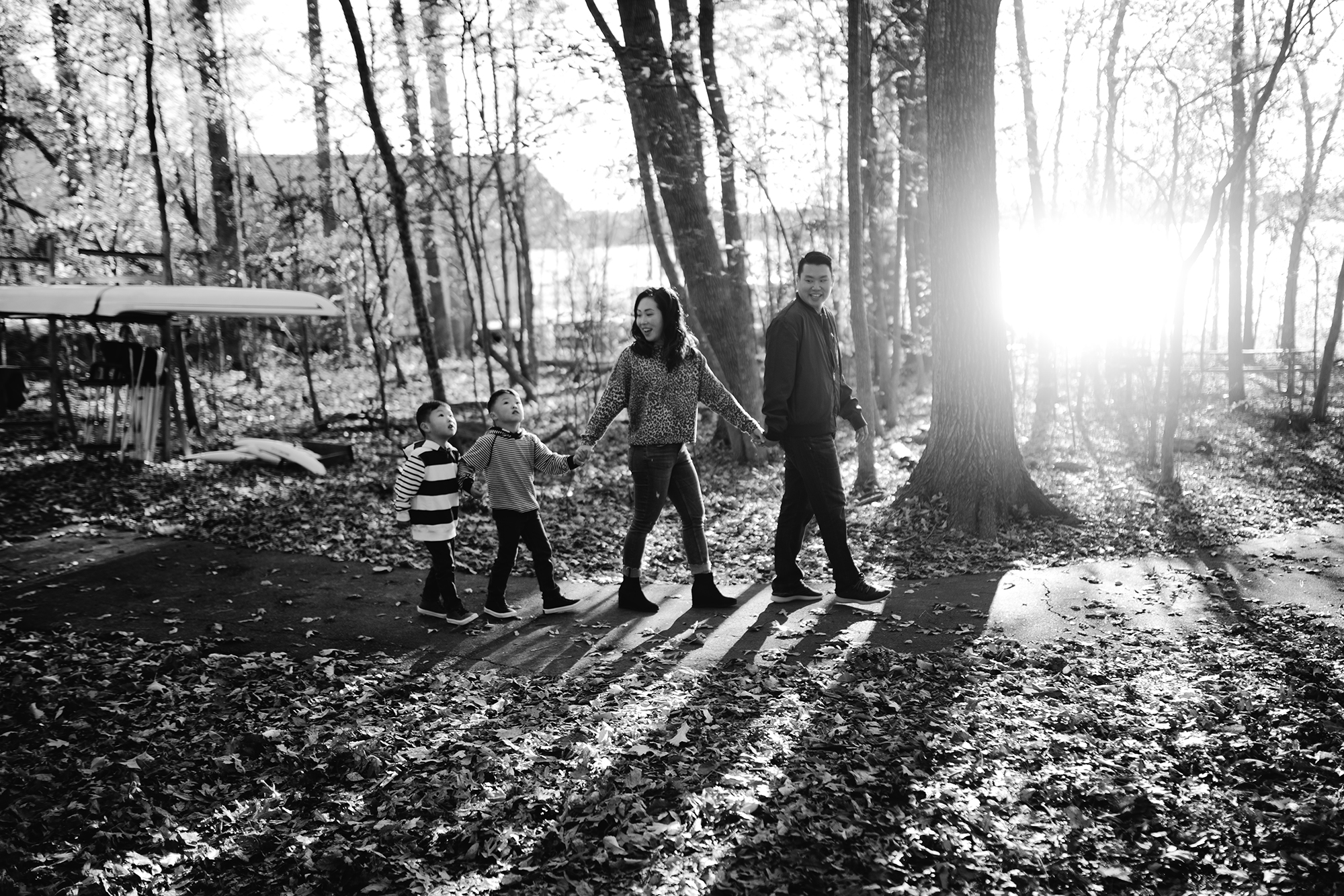 Family session Raleigh NC