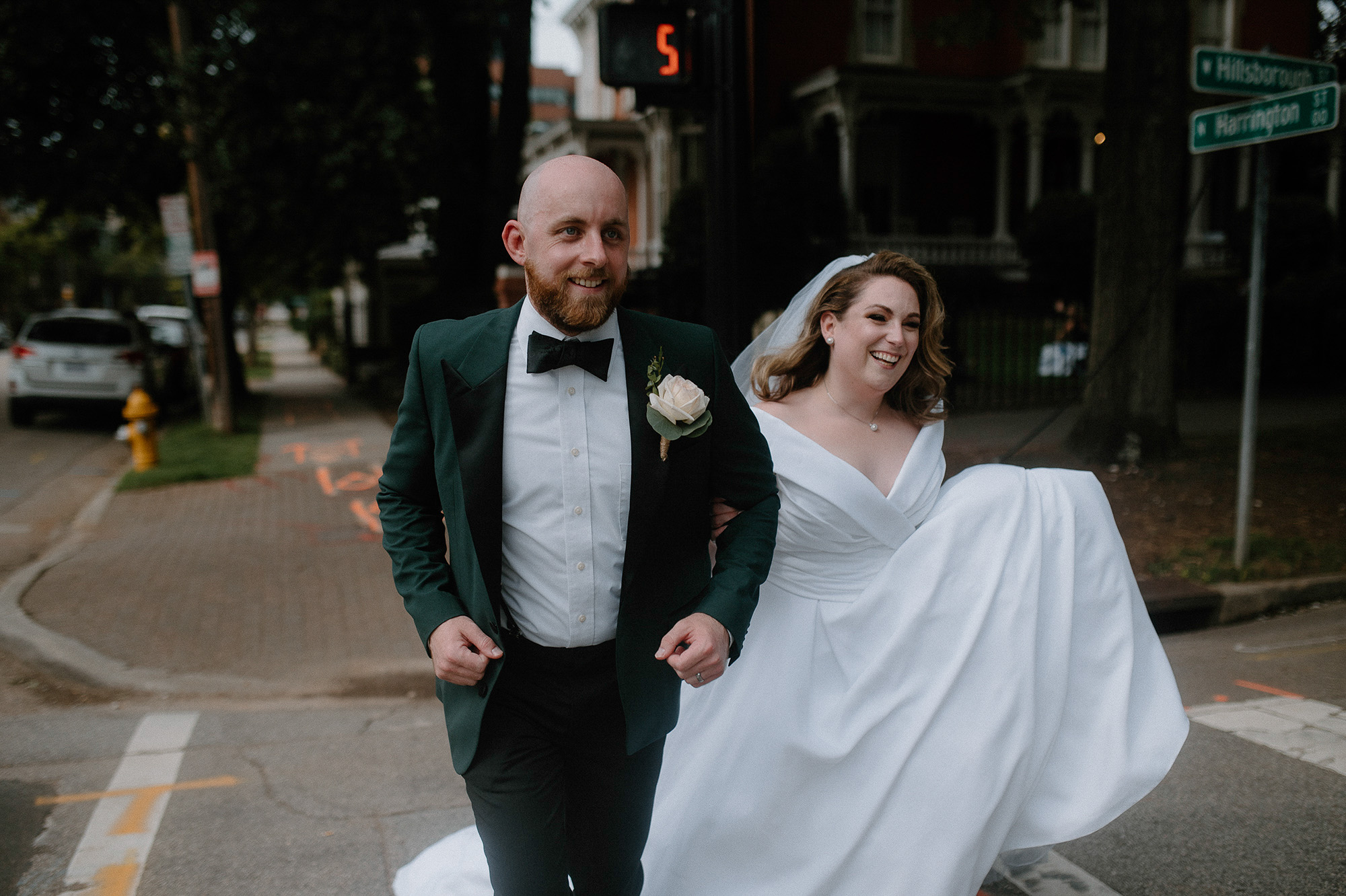 Downtown Raleigh NC Wedding