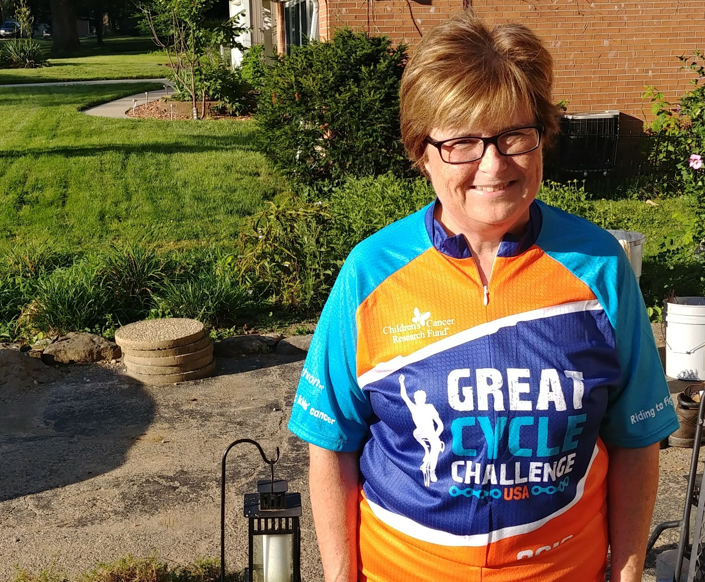 Ep 134: Colleen with the Great Cycle Challenge
