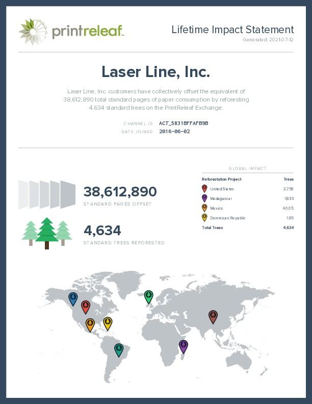 PrintReleaf Results