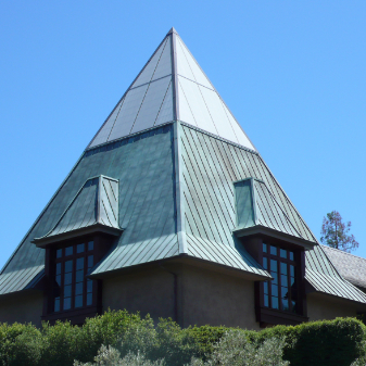 Image of steeple roof