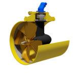 HYDROMASTER hydraulic driven tunnel thruster