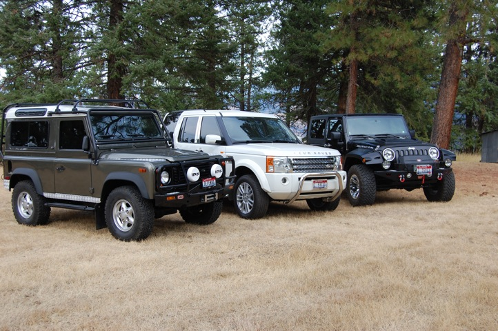 Landrover LR3 HES