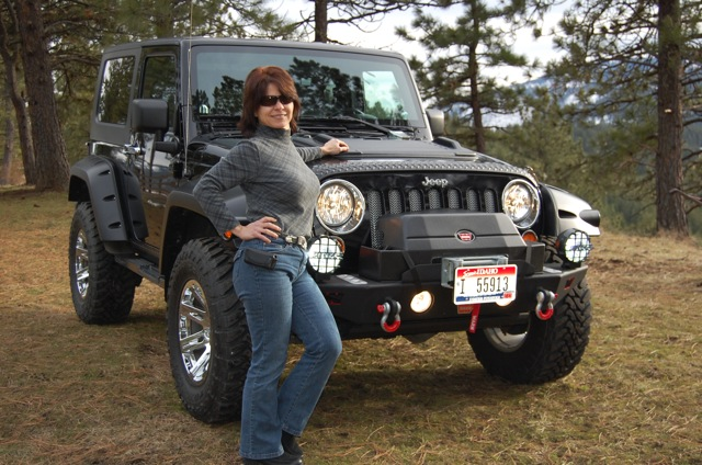 Jeep Rubicon Trail Ready – Blackie