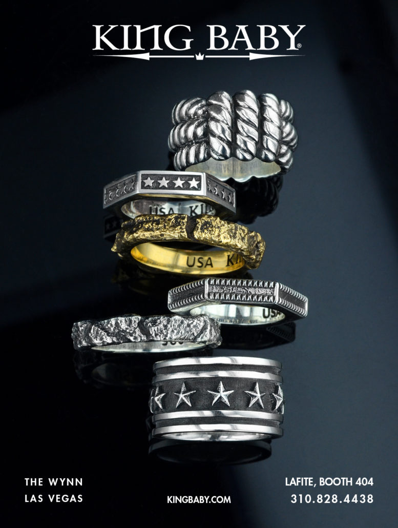Editorial AD for Luxury Los Angeles Boutique Jewelry