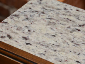 Granite countertops in The Livery Apartments in Downtown Winston-Salem